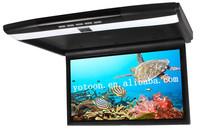 "17.3"" Roof Mounted Flip Down Monitor for bus, flip down Roof Mount Car DVD player with AV1,AV2,HIDM ,3 colors can chosen"