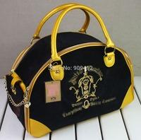 New Arrived Quality Velvet Embroidery Pet Carrier DogTravel Bag  Pet Bag Black Blue