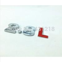 2.8 L Turbo Metal Rear Trunk Emblem Badge Decal Sticker