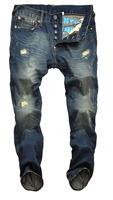 2014 new brand jeans fashion men's pants hot sale jeans marcas famosas jeans men perfume 6001