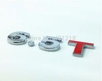 6.5T Turbo Metal Rear Trunk Emblem Badge Decal Sticker