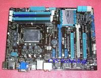 Free shipping for ASUS Desktop mothebard for P8Z77-V LK board for INTEL Z77 ATX LGA 1155 SATA3 USB3.0  VGA DVI HDMI