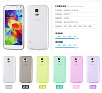 free shipping case for samsung galaxy s5 g900 Ultrathin transparent tpu case mobile phone silicone case