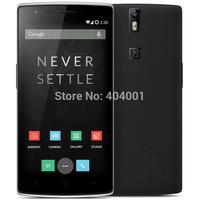 "Original OnePlus One Plus One phone 2014 Oneplus_one Qualcomm LTE 4G Mobile 5.5"" 1080P 3GB RAM 64GB ROM Android 4.4 13MP NFC  W"