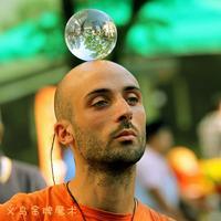 Magic crystal ball resin ball acrylic wear-resistant street performance props