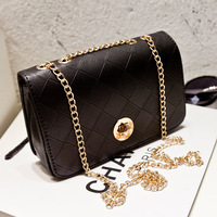 2014 Fashion plaid bags chain small bag vintage handbag casual bags women messenger bag