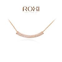 Roxi jewelry pendant austria crystal rose gold holothuroidea necklace quality pendant    2030213590