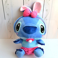 Free shipping 25cm cute eating pacifier Stitch Plush Doll Toys Lilo & Stitch Toys for kids, Hot sale Plush Animals FH150