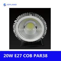 10pcs/lot  led par30/par38 cob e27 spotlighting led light e27 spot par led par bulb 220V 110V