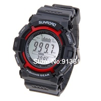 Multi function Digital Fishing Barometer Waterproof Wrist Watch Thermometer Altimeter Barometer Wrist Watch FR712A