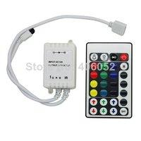 10pcs/lot  DC12V 5V 24V RGB IR LED Controller 28 key for 3528/5050 rgb led strip light