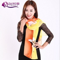 Professional Fashion Lady's Print Scarf