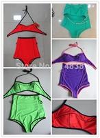 Factory wholesale retro sexy corset waist high waist bikini Hot Springs swimsuit Free Shipping