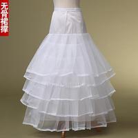 Boneless   four ballet wedding veil stays steadily high grade boneless petticoats
