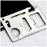 Saber card Multifunction Lifesaving card  Universal knife 7 * 4.5cm  30g  A flawless products Large Saber card
