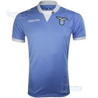 Free shipping new Lazio home blue soccer jersey Soccer Jersey 14-15 Soccer Jersey Thailand Quality Lazio blank