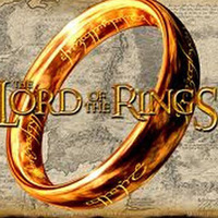 12pcs/lot Free Shipping Wholesale Fashion Jewelry Ring Gold color from The Lord of The Rings with free Chain Movie Jewelry
