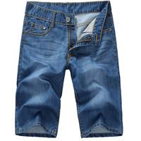 2014 New Summer Fashion Men's Short Jeans Trousers 100% Cotton fashion design menshorts FreeShipping 0989#