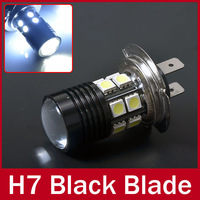 LED H7 12 SMD 5050 + Cree Lens Q5 Plasma Projector Fog Light Daytime Running Light Xenon White Lamb