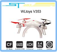 WLtoys V353 Galaxy Headless Mode 2.4G 4CH 6 Axis Gyro RC Quadcopter VS Drone Walkera X350 pro DJI Phantom 2 vision FPV E boy toy