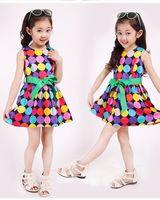 1pcs Retail princess 2014 summer baby girls dancing clothing princess children tutu kids dress 3~12age children's apparel