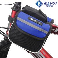 Bicycle bag tube bag saddle bag mountain bike bag with cell phone pocket