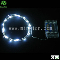 Minki 10pcs 2.0M 20leds white wired led string light for holiday event wedding decoration