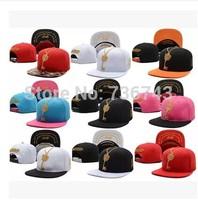1 pc/lot 2014  Free Shipping Unisex Golden Key BBOY Snapback Hip Hop Cap Baseball Skateboard Hat YS9304