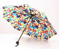 Popular color camouflage big bear umbrella UV prevent sunshade windproof three folding