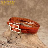Браслет в несколько обхватов Leather bracelet LCZ096