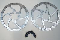 Hot New AVID HS1 Brake Rotors 160mm 6 inches Disc 2PCS 12 Blots BB5/BB7 MTB