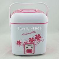 Square mini electric rice cooker, 1.2L split mechanical mini electric rice cooker, multifunctional mini electric rice cooker pot