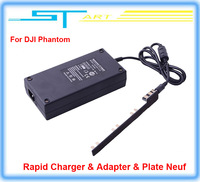 2014 Newest Free shipping Extend Multi Battery DJI Rapid Charger Adapter Plate for Drone DJI Phantom 2 Vision FPV Charger