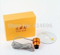 Free shipping+ Datyson+luxury gold color+TTX-650+Telescope / Microscope+USB interface electronic eyepiece+HD CCD