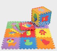 30*30 Animal Pattern Tapete Infantile EVA Foam Puzzle Green Mats, Learning+Education Tapete Para Bebe Carpet For Baby