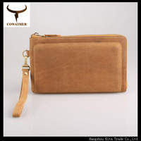 top layer cow genuine leather handcrafted vintage style male clutch, exquisite craft wallets,high grade carteira 2014 purse YH52