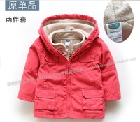Male baby child outerwear baby clothes cardigan twinset outerwear vest spring and autumn top