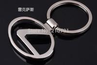 10pcs/lot Lexus car emblems Keychain Lexus Keyrings Lexus Key Chain Ring Key Fob car keychain car key rings car key ring