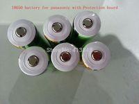 free shiping 4pcs/lot Original NCR18650B 3.6V 3400mAh Rechargeable Li-ion Protected Batteries with PCB For Panasonic