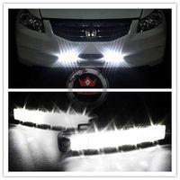 Free Shipping Popular 100% Waterproof Super Bright LED DRL High Power 5led Daytime Running Light