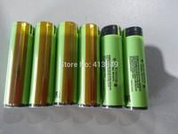 free shiping 8pcs/lot Original NCR18650B 3.6V 3400mAh Rechargeable Li-ion Protected Batteries with PCB For Panasonic