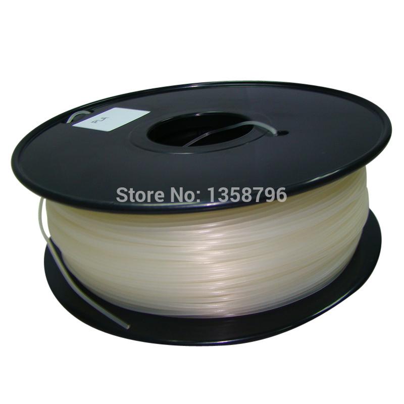 natural color 3d printer filament PLA ABS 1 75mm 3mm 1kg 2 2lb Plastics Consumables Suitable