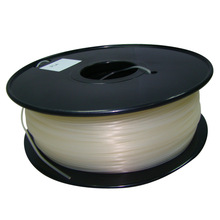 natural color 3d printer filament PLA/ABS 1.75mm/3mm 1kg/2.2lb Plastics Consumables Suitable for MakerBot/RepRap/Cubify/UP