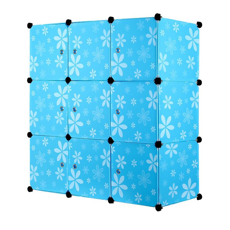 Taobao взрыва моделей diy обычной пустой одного ребёнка девять сетки шкаф шкаф хранения шкафы шкафы кабинет