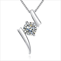 titanic heart of the ocean necklace Crystal 925 silver pendant Necklaces & Pendants topshop necklaces for 2014 women nke