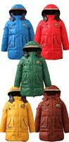 6 Colors High quality Winter Child Down Jacket  big Boy Coat children outerwear Fashion Kids Down & Parkas Size 140-160
