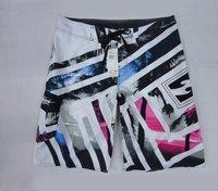 Retail spring 2014 hot sale Fashion Kid Quick Dry Surf Board Shorts Beach Boy Swim Children Summer Thin line stripes sport short