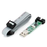 DIY USB ISP Programmer For ATMEL AVR ATMega ATTiny 51 Board For Arduino Free Shipping