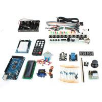 TJ2560 Learning Main Development Board + Expansion Board + Breadboard Set for Arduino - Blue + Black Free Shipping