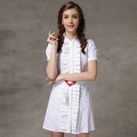2014 Summer New Fashion Women's Short-sleeve Black And White Slimming 100% Cotton One-piece Dress Heart Belt LWZ1